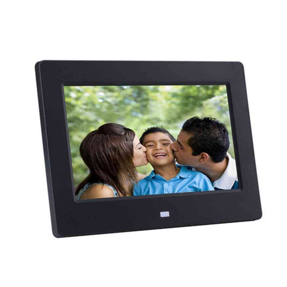 8 Inch Digital Picture Photo Frame With Ips Display
