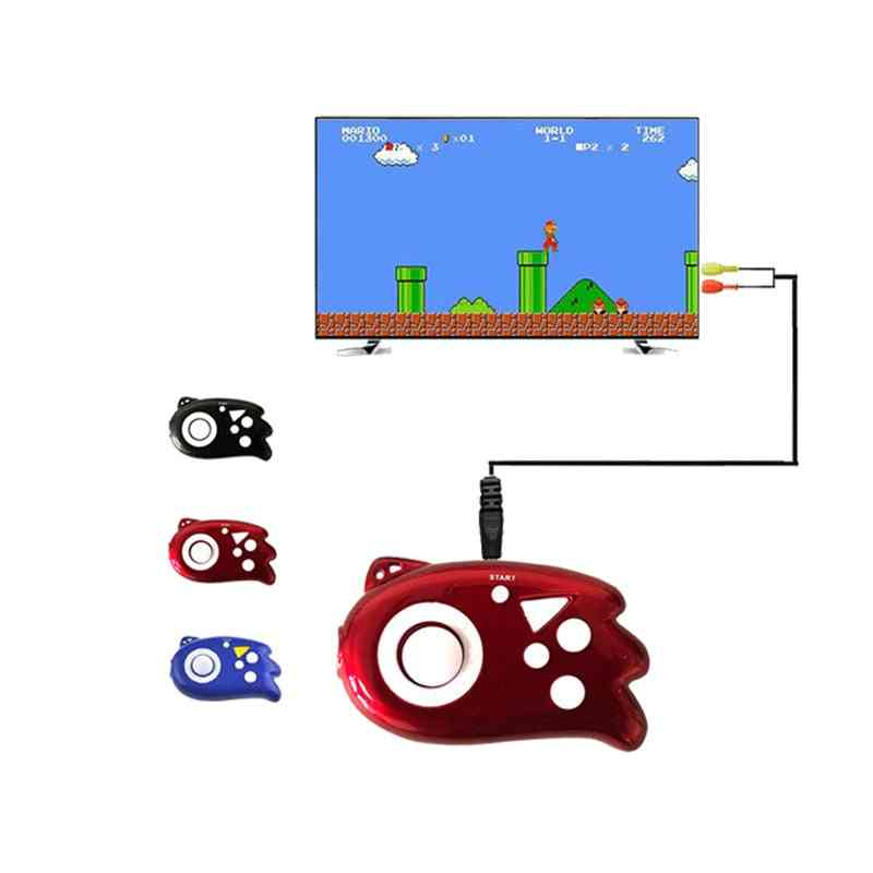 8 Bit, Retro Style, Built-in 89 Tv Game Console For Family-handheld