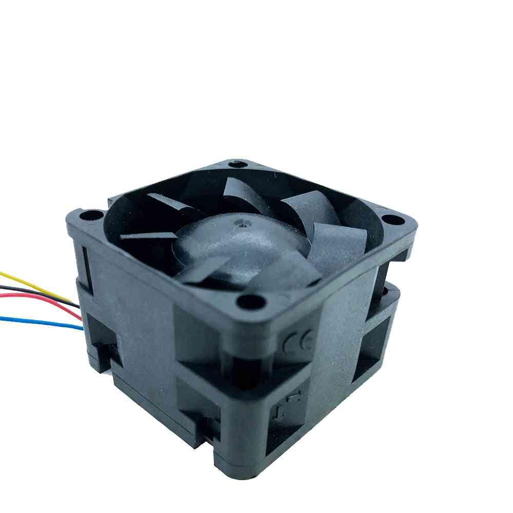 12v Pwm 4028 Cooling Fan 40mm 40*40*28 High- Speedindustrial Server Inverter Cooling Fans