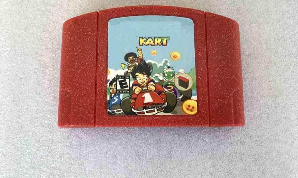 Game Card-64 Bit Usa /eu Version For Retro Console