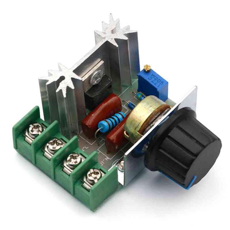 2000w 220v Scr Electronic Voltage - Regulator Module, Speed Controller