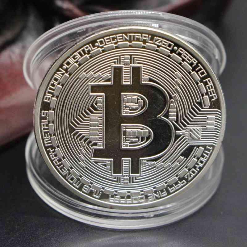 Bitcoin Souvenir Medal - Art Collection Physical Party Decoration