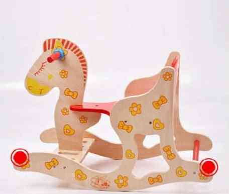 Wooden Rocking Horse - Toy For Toddlers