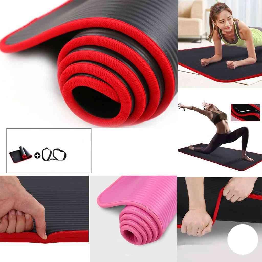 Unisex-thickened Edged Yoga-mat