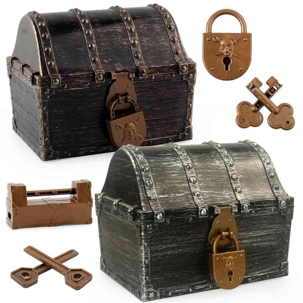 Doldoly Pirate Treasure Hunting Box