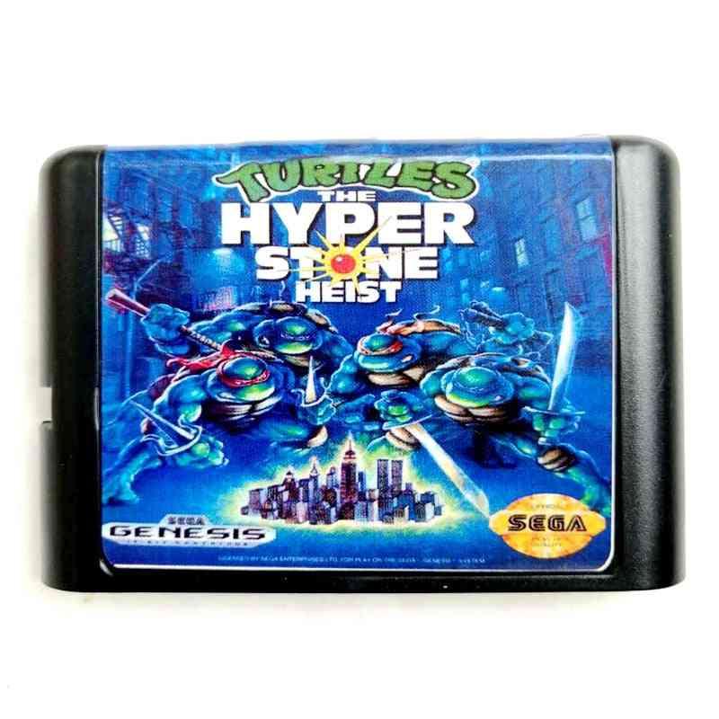 Ninja The Hyper-stone Heist-16-bit Memory Card Egadrive