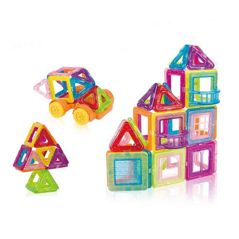3d Mini Magnetic Construction Building Blocks Toy