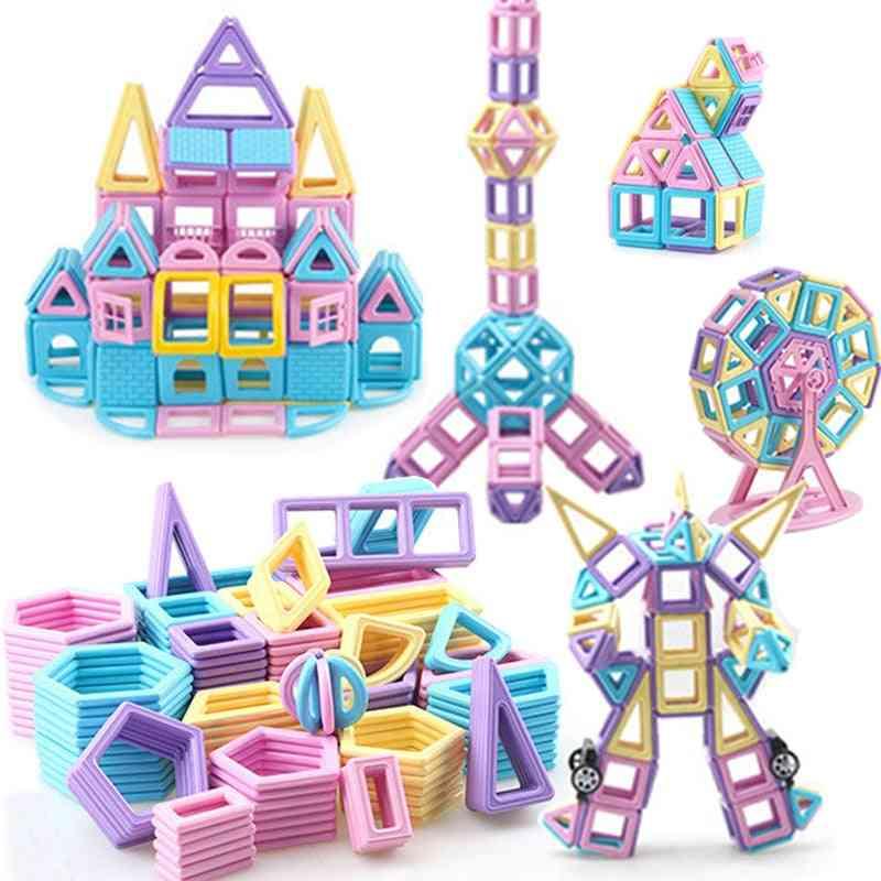Magnetic Building Blocks Brick Constructor Set Toy