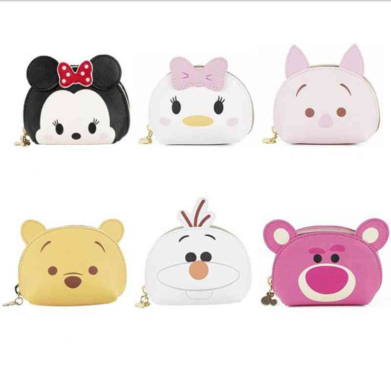 Minnie Frozen Olaf Winnie Daisy Duck Portable Hand Bag With Keychian