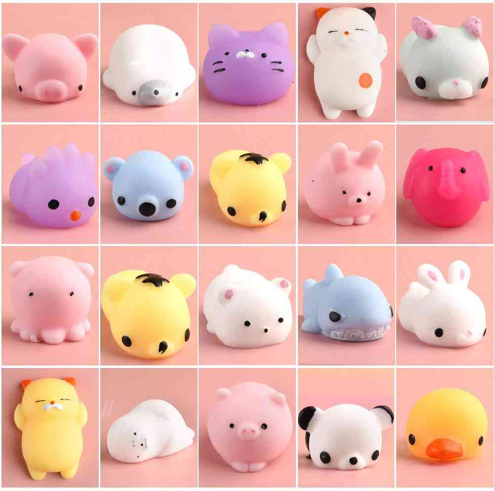 Mini Animal Anti Stress Ball Squeeze, Fun For Kids