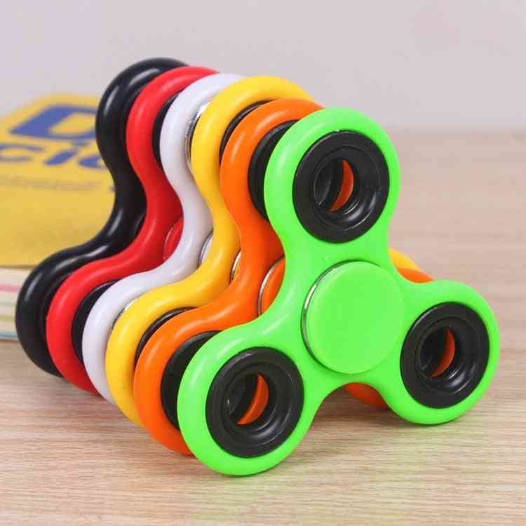 Abs Fidget, Edc Spinner For Autism Adhd Anti Stress, Tri-spinner