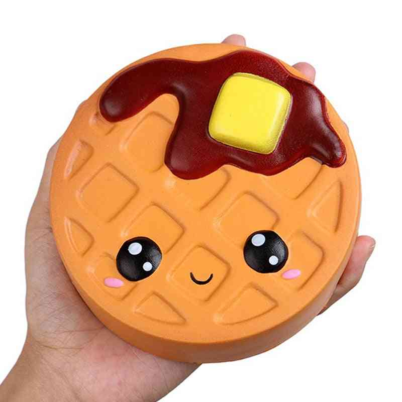 Jumbo Cheese Chocolate Biscuits, Cute Squishy Soft Squeeze Toy