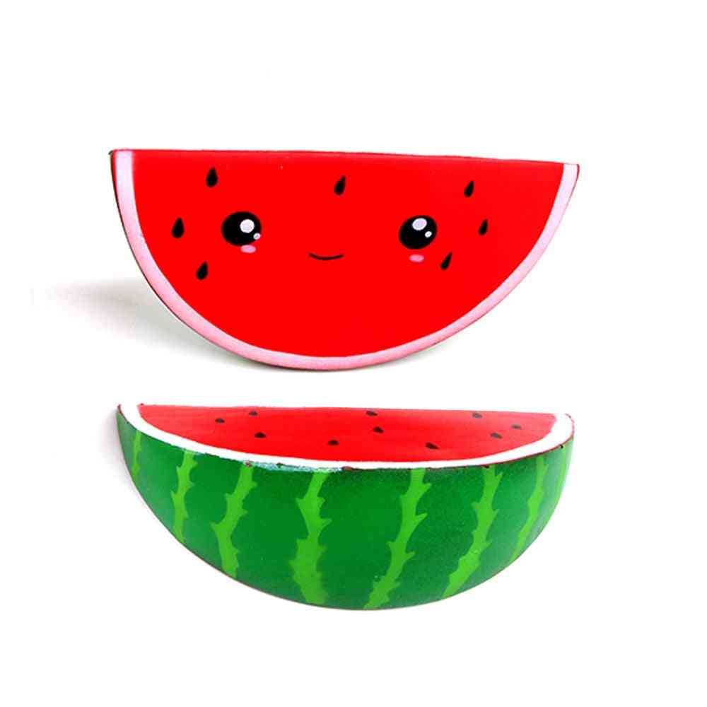 Soft Squishy Cute Smiley Watermelon Cream Squeeze Toy