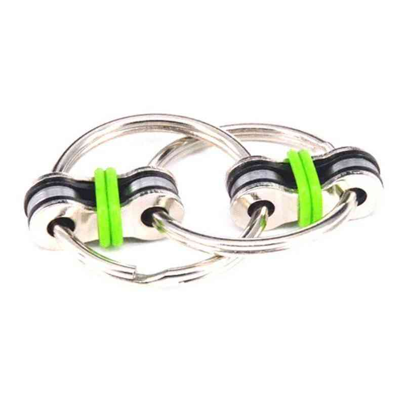 Metal Puzzle, Hand Spinner Keyring-fidget Sensory Toy