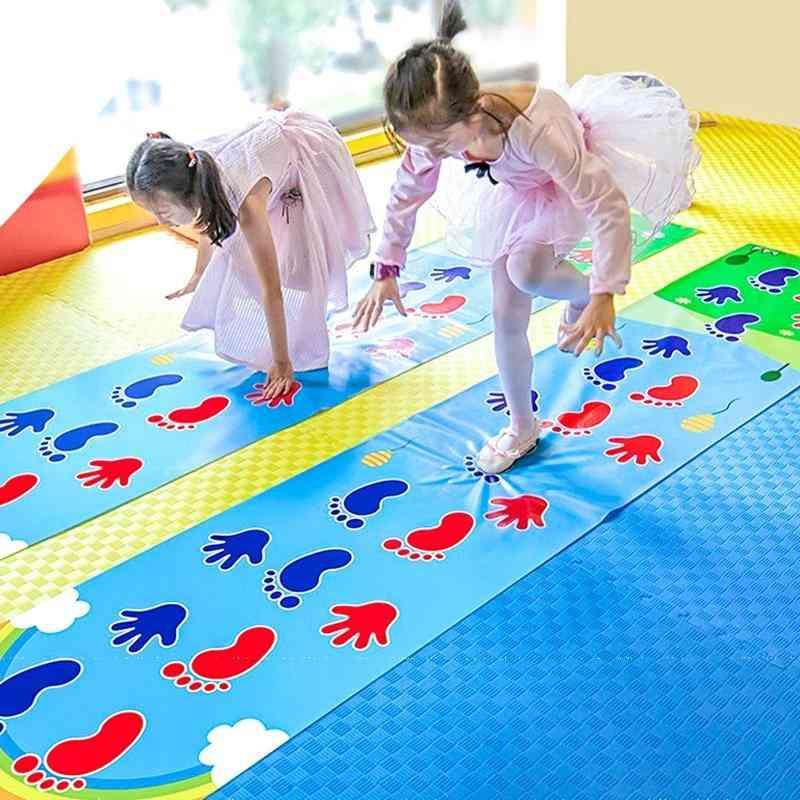 Kid's Jumping Carpet Lattice -kindergarten Team Gamepad
