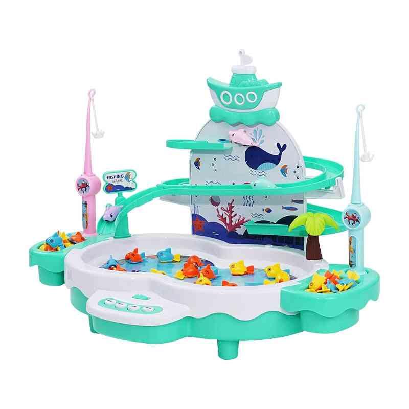 Shining Magnetic Kids Electric Fishing Toy