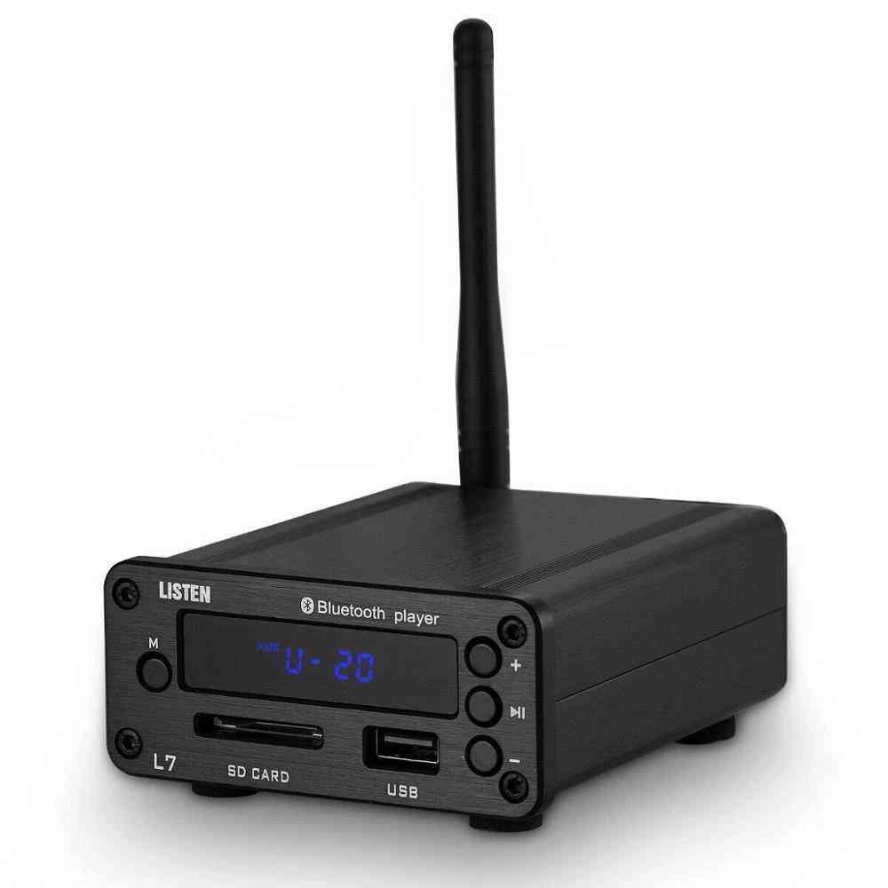 Hifi Bluetooth 5.0 Receiver, Dac Stereo , Usb Music Player, Fm Radio