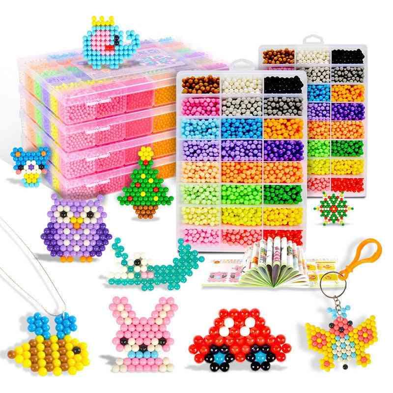 Animal Magic Beads Kit, Diy 3d Puzzle Educational For Children