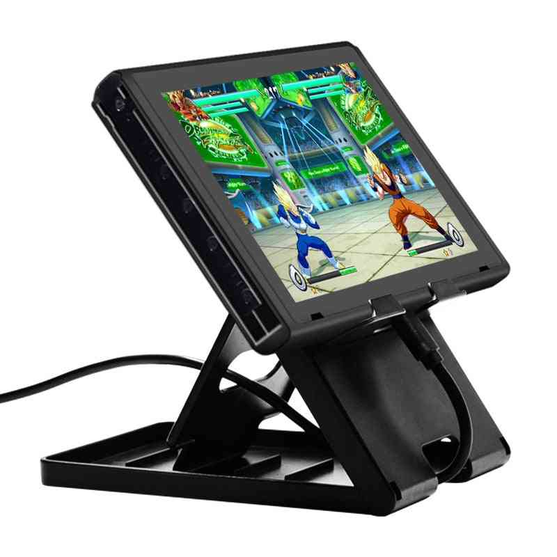 Portable, Multi Angle Bracket Compact Game Rack / Playstand For Nintendo Switch Console