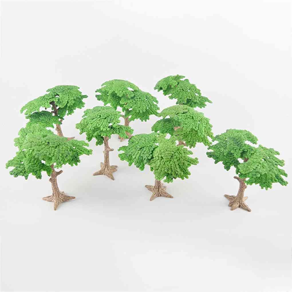 Miniature Fairy Garden Pine Trees Mini Plants Dollhouse Decor Accessories Gardening Ornament