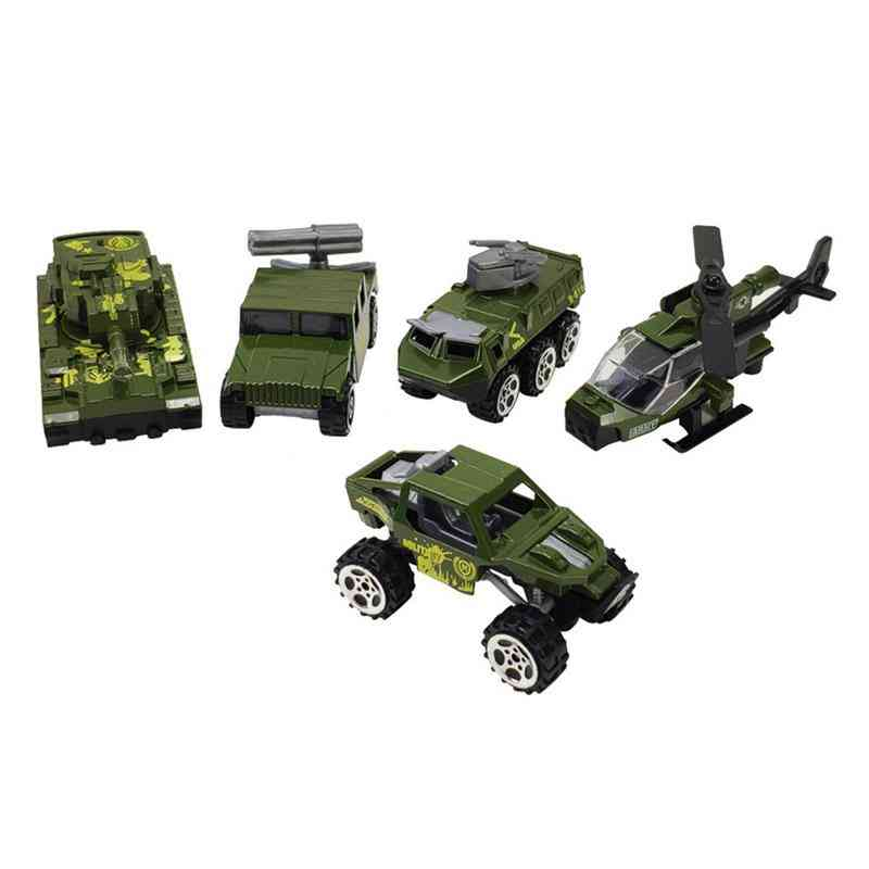 Vehicles Models Alloy Mini Diecast Army Car Outdoor Lawn Beach Baby Toys