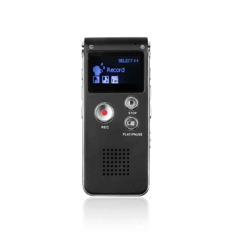 Mini Usb Disk Drive Digital Audio With Mp3 Player  - Voice Recorder