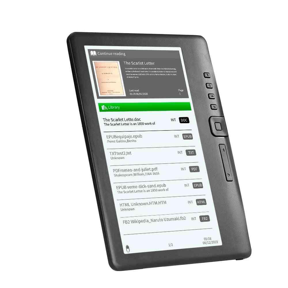 Portable E-book Reader - Multifunction Lcd Display Screen