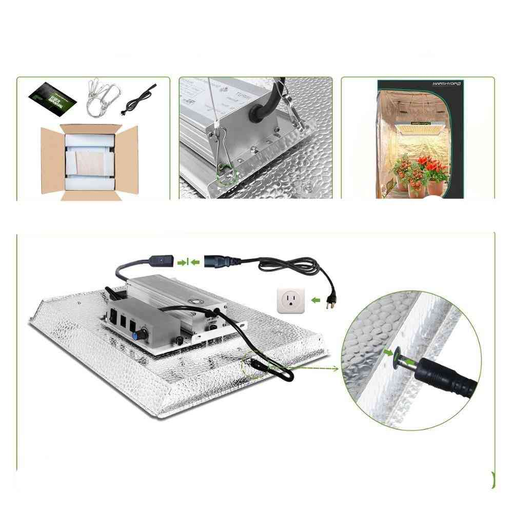 Led Grow Lights For Hydroponic Indoor Plants Veg Flower Replace