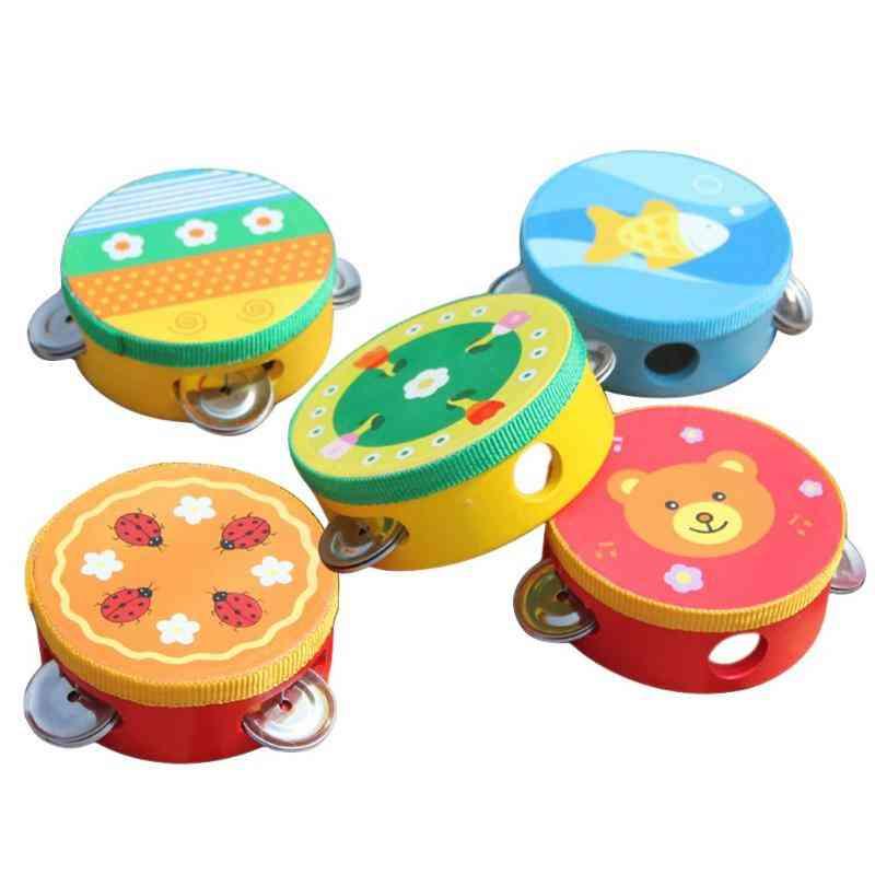 Children Musical Instrument Handbells Baby Drum Music Sound Toy