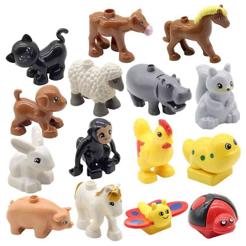 Farm Animals Zoo Compatible With Duplos Toy