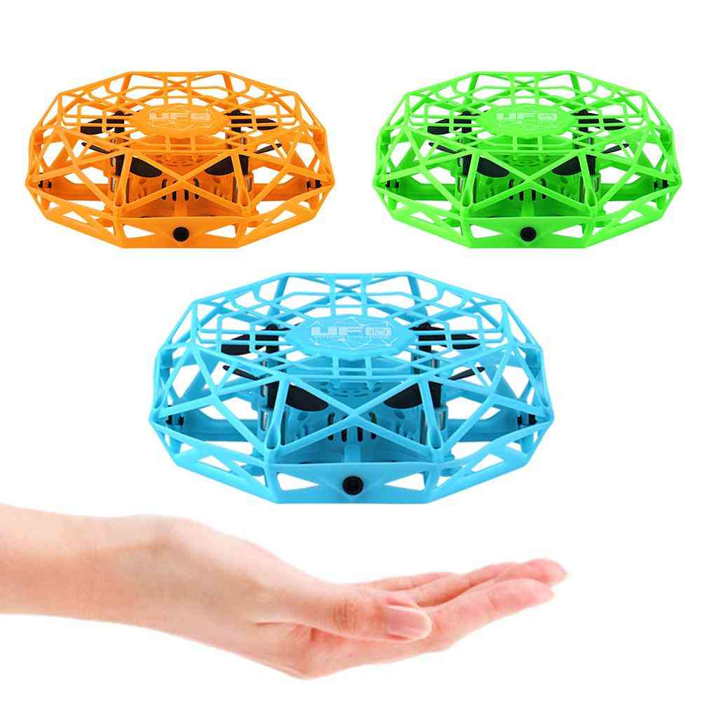 4-axis Mini Drone - Infrared Sensing Control, Hand Flying Aircraft Toy