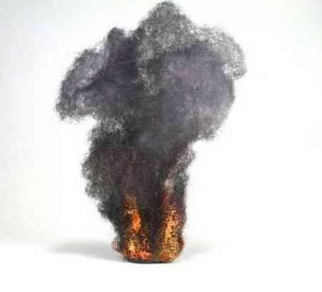 Explosion, Smoke Effect Cotton For Diy Miniature Model