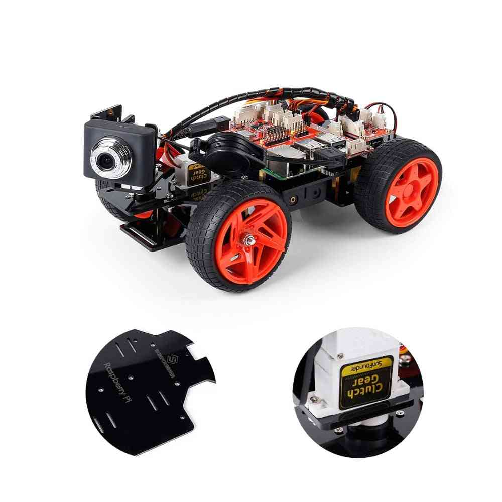 Remote Control Robot - Smart App Controlled Car Toy Kit