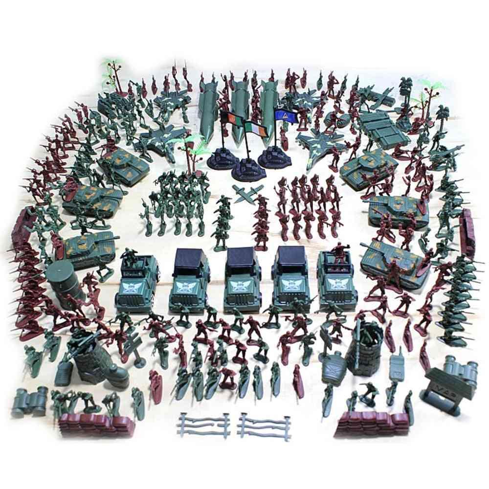Plastic World War Ii Soldier Model-military Toy