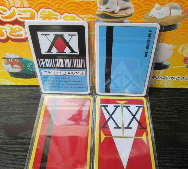 License Card Ging Freecss Japan Anime (paper Sticker Or Pvc)