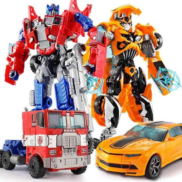 Transformation Robot Car Action Plastic For Education