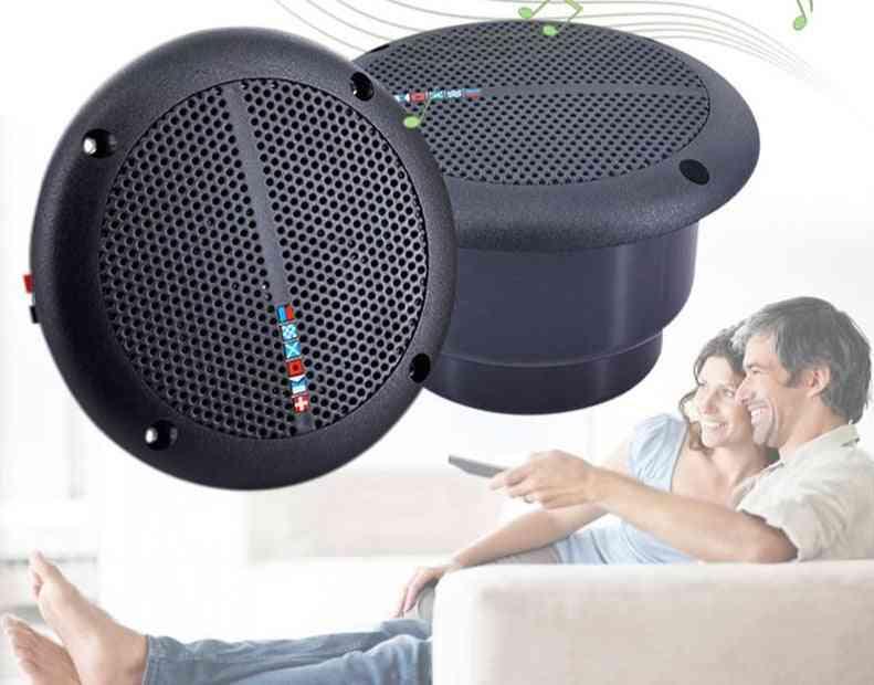 Ip65 Waterproof Ceiling - Outdoor Pool Lawn Loudspeakers