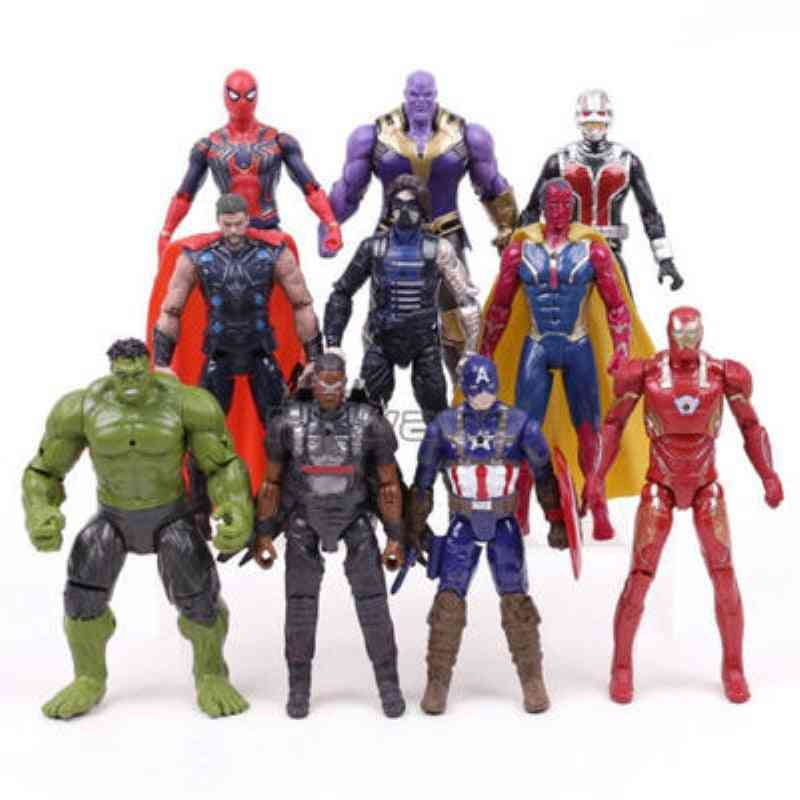 16cm Marvel Avengers, 3 Black Panther - Action Figures