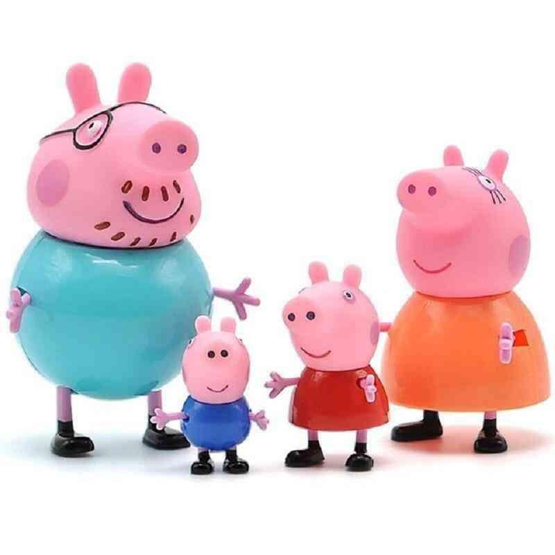 George Guinea Pig Family Pack - Original Pelucia Anime For
