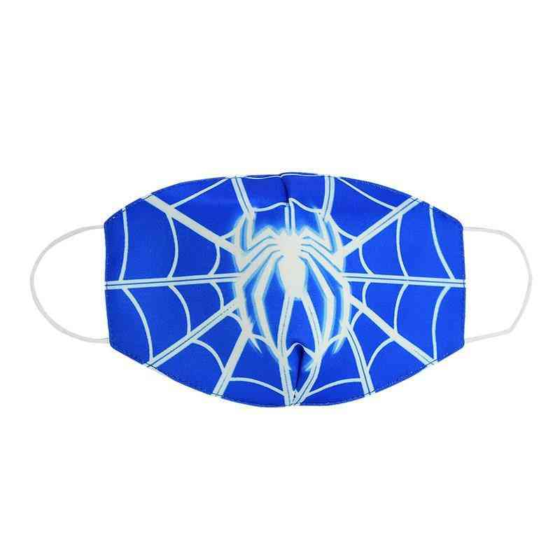 Spiderman's Face Maks - Marvel Frozen Cotton Anti-dust Protective For And