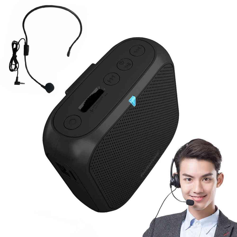 Mini Portable Loudspeaker - Classroom Wired Wireless Voice Amplifier