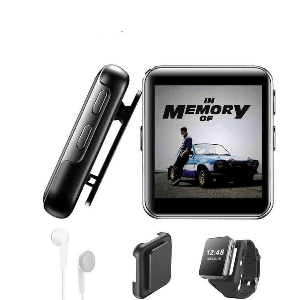 Mini Clip Touch Screen - Sound Music Sports Watch