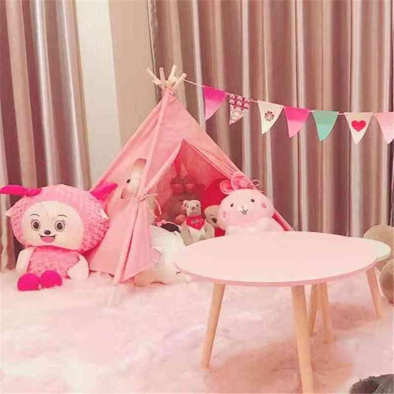Infantil Baby Teepee Tents - Castle Carpet Led Lights Decoration