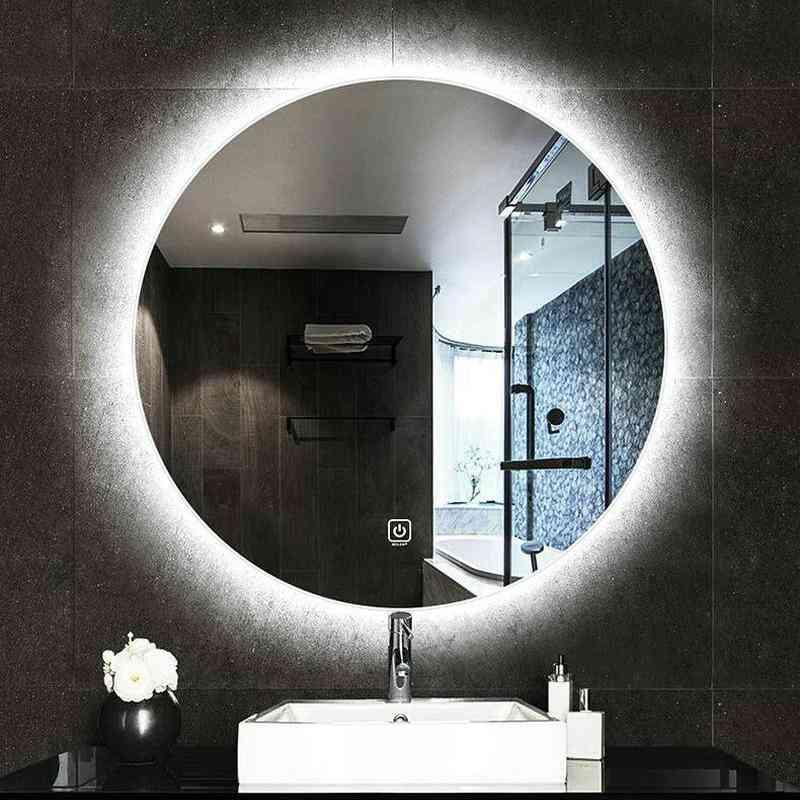 High Quality Reflection Frameless Mirror - Anti Fog, Round Bathroom Mirror