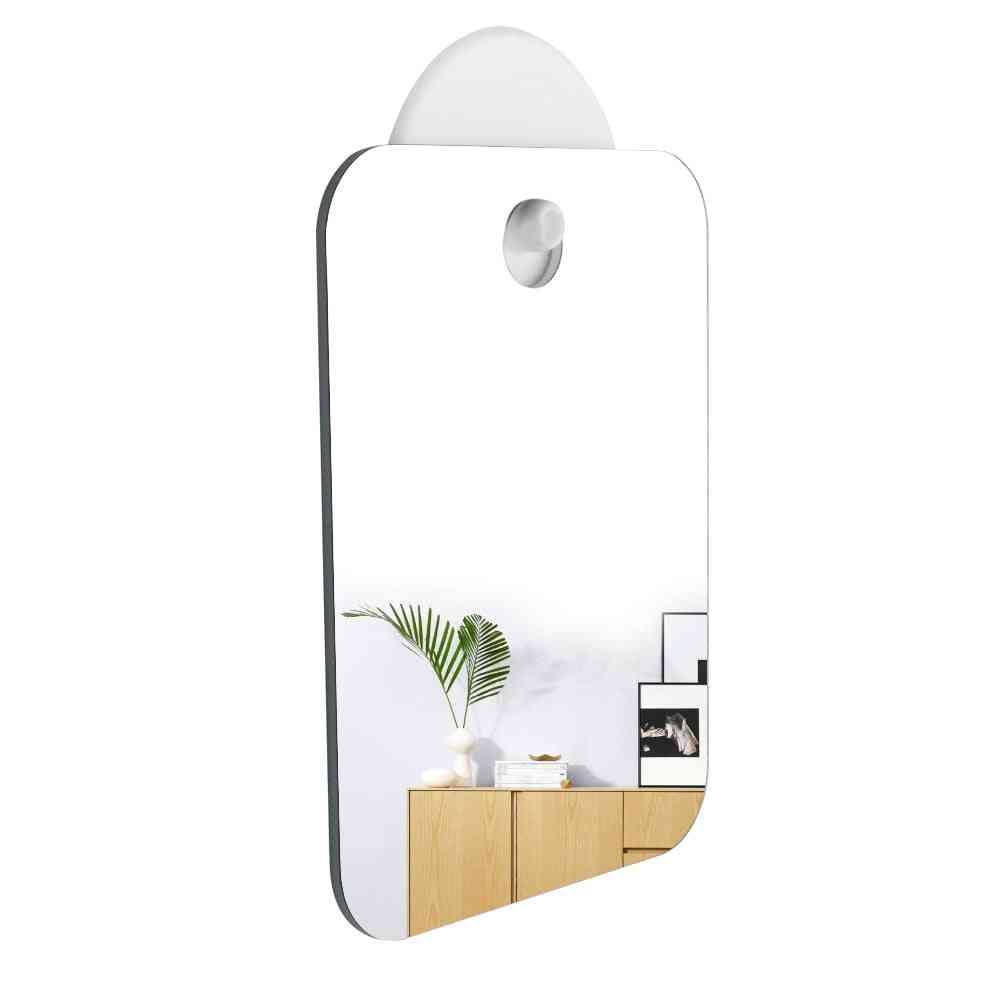 Hanging Makeup Anti Fog Mirror Without Hook