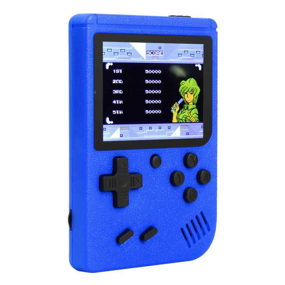 Video Game Console - 8 Bit Mini Pocket Handheld Gaming Player, Built-in 400 Classic Games