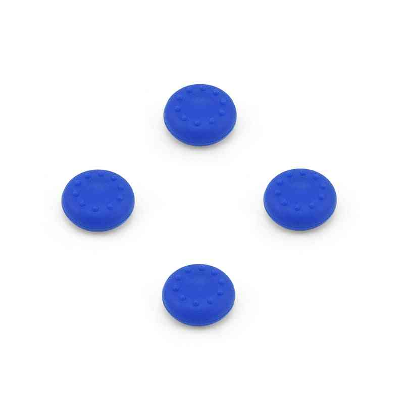 4 Pcs Silicon Thumb Stick, Grips Caps For Playstation 4