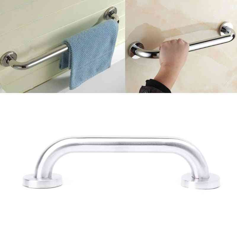 Stainless Steel Safety Bathroom Shower Tub Handrail - Toilet Support Grab Bar