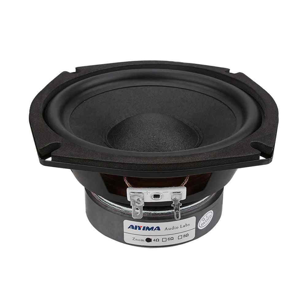 5.25 Inch, 120w Subwoofer Speakers For Home Theater
