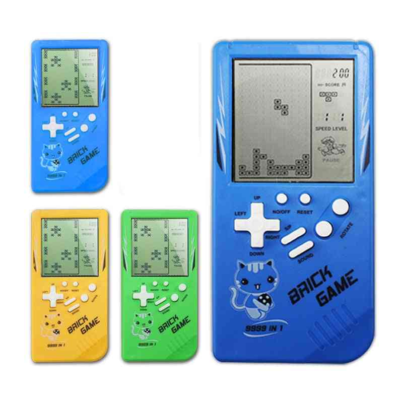 Tetris Classic Childhood Electronic Games- Console Riddle Educational For Child